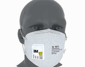 3D 3M Protective Mask 1