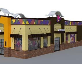 Taco Bell 3D model