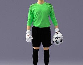 3D Soccer player 1114-11