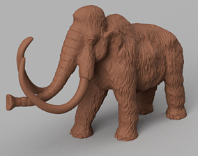 Mammouth 3D print model