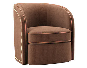 3D Toby Swivel The Sofa And Chair Company