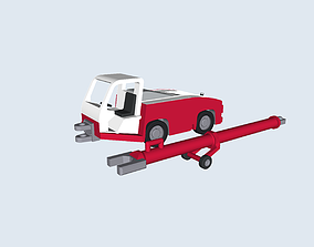 TLD TMX 150 pushback tractor 3D print model