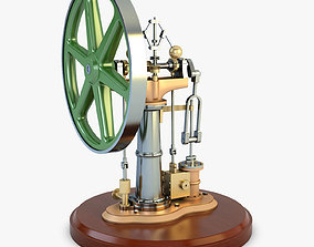 Benson Vertical Engine 3D model