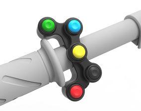 GP 5 Button Switchgear 3D
