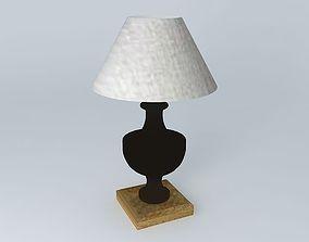 3D model Sologne Lamp Maisons du Monde