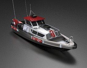 Patrol Boat 3D model