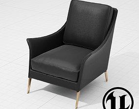 3D asset Flexform Boss Chair UE4