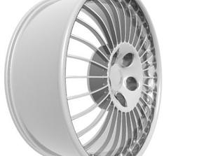 tire Wheel Rim 3D
