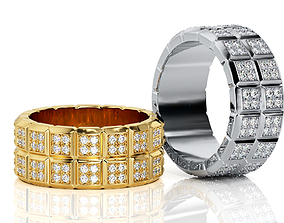 3D printable model Ring Band R BA 0029