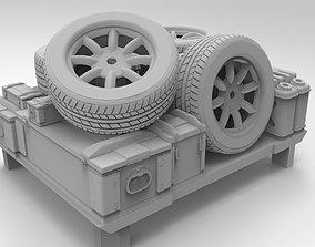 3D print model Ford 150 SVT Lightning Cargo for HotWheels