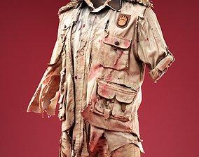 3D asset Horror Ranger Costume