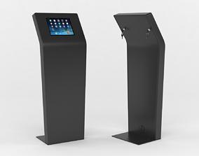 3D model Kiosk Tablet Floor Stand
