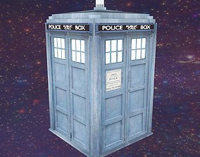 3D asset Tardis by Doctor Who