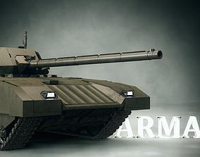tank 3D PBR T-14 Armata