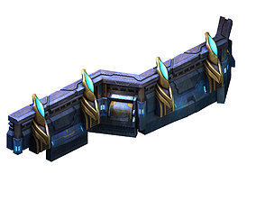 3D model Different dimension - building - wall 09