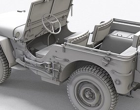 3D model WWII Willy