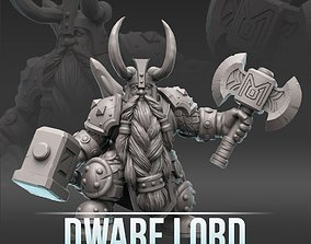 3D print model Dwarf Lord