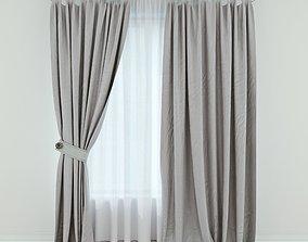 Modern Curtain 11 3D