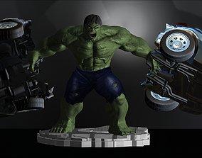 Hulk From Movie The Incredible Hulk 3D printable model 4