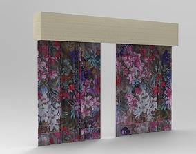 3D printable model Curtain 9