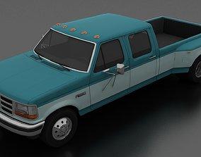 F-350 Pickup 1992 CrewCab DRW 3D model