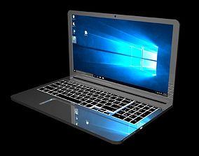 dvd 3D model High Poly Laptop