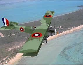 Curtiss JN-2 Jenny V03 3D