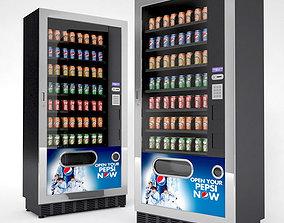 Beverage Vending Machines 3D model