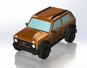 3D printable model VAZ-2121 Niva