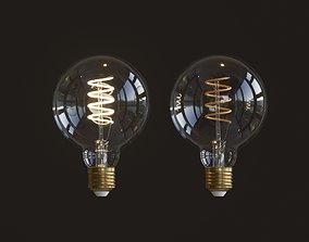 3D PBR interior Led Light Bulb