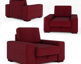 Manchester armchair 3D