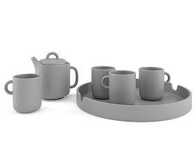 3D Grey Bliss Set