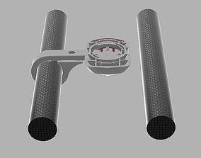 Wahoo ELEMNT BOLT Mount for any AEROBAR TT bars 3D print