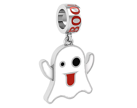 3D printable model Ghost enamel charm