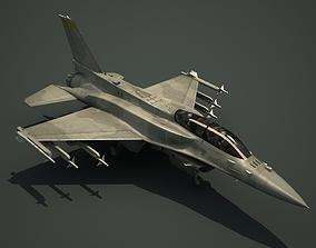 3D model F-16V Fighting Falcon Fighter F16 Viper F-16F
