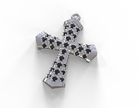 pendants printable 3D print model cross