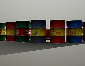 stone 3D asset realtime Barrel