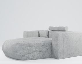 3D Modern Armchair - Sofa