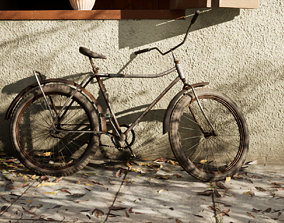 Rusted Bicycle 3D