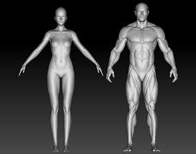 3D model Stylized anatomy