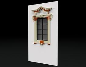 Classic 8 window 3D model