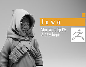 Jawa - Star Wars Episode IV A new hope 3D printable model