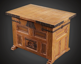 Display Table - MVL - PBR Game Ready 3D asset