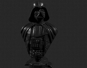 Darth Vader 3D Bust for 3d Printing knight