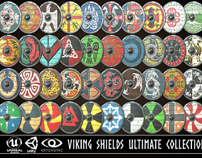 3D Viking Shield Ultimate Collection
