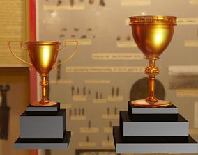 Goldcup Trophys 3D asset