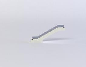 VR / AR ready ESCALATOR 3D MODEL