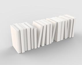 Book Set Decorative 3D model