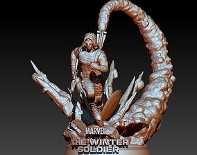 3D printable model Winter Soldier Marvel