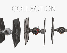 3D TIE Fighters Collection